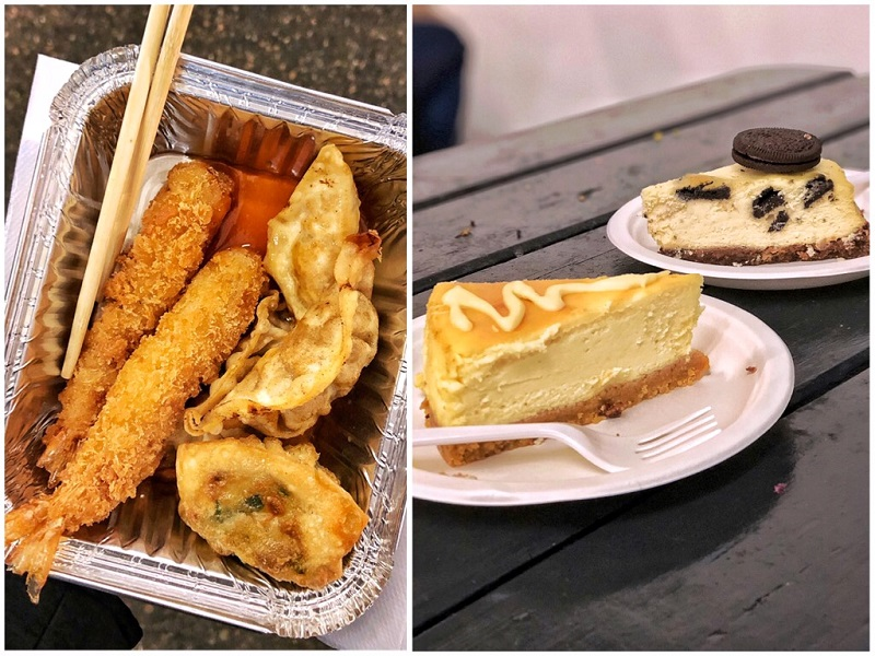 Dimsum en cheesecake Sunday Upmarket Top 5 leukste food markten in Londen.