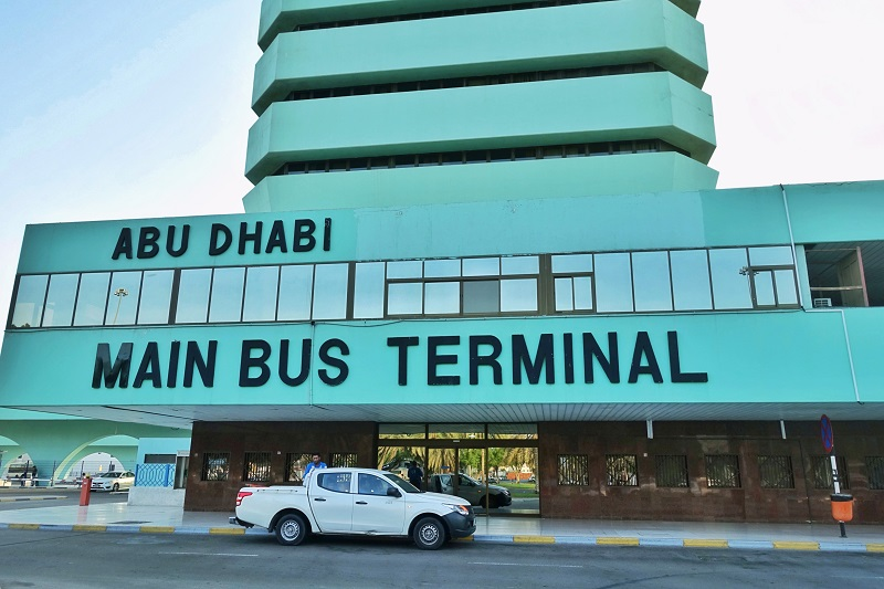 Abu Dhabi bus station