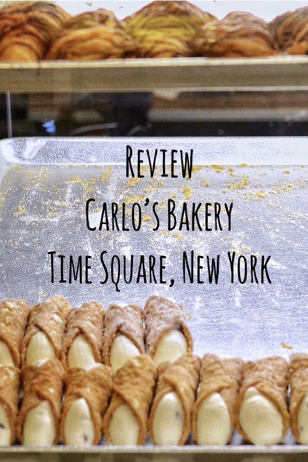 Review Carlo's Bakery Times Square.