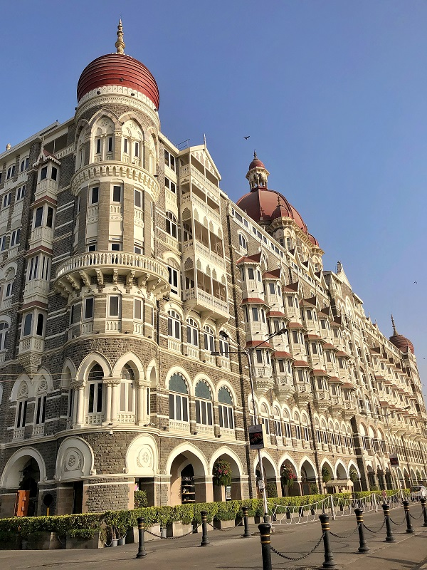 Hotel The Taj Mahal Palace.