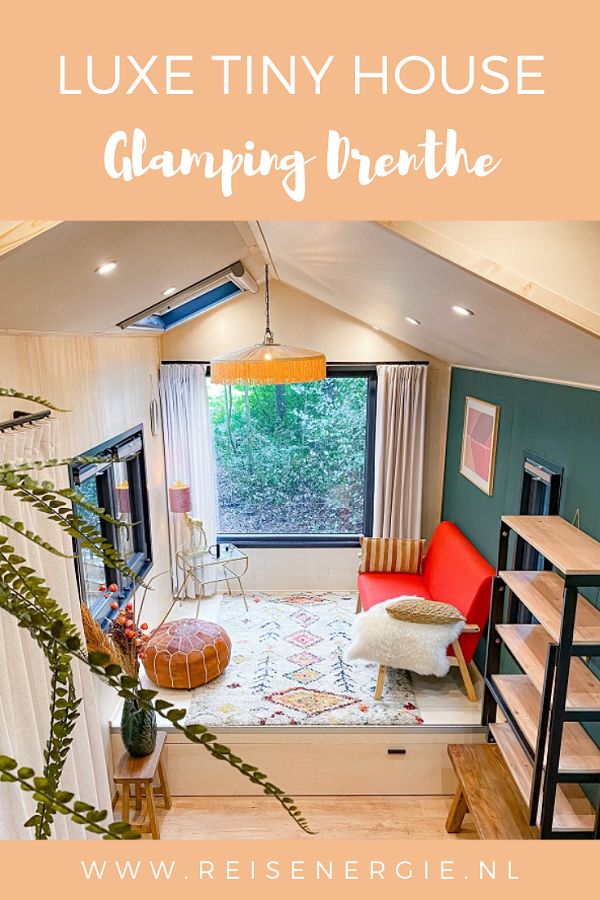 Glamping in een luxe Tiny House in Drenthe